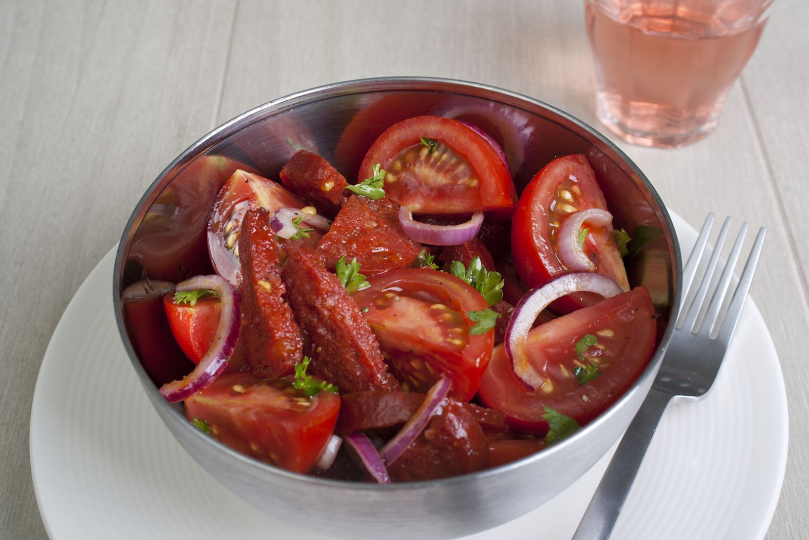 Tasty Tom Chorizo salade
