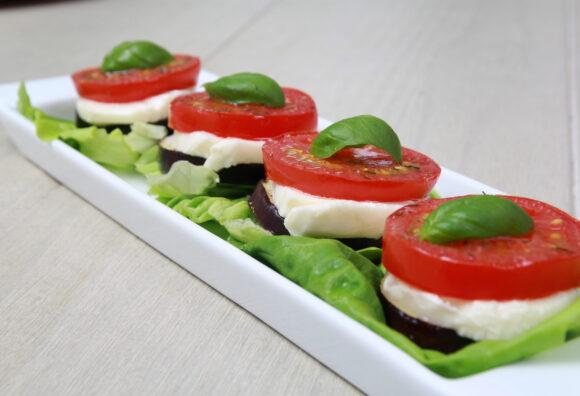 Salade van gegrilde tomaat