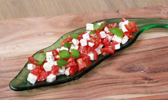 Tomatensalade met basilicum & feta